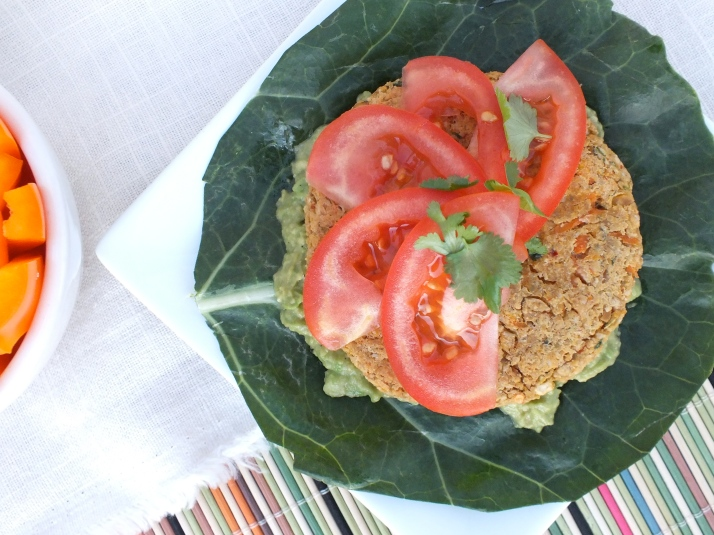 5 Step Chickpea Burgers [Vegan and Gluten Free]